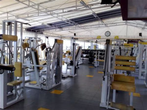 Eigenes Fitness Studio im Keller home gym