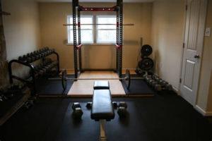 Eigenes Fitness Studio im Keller